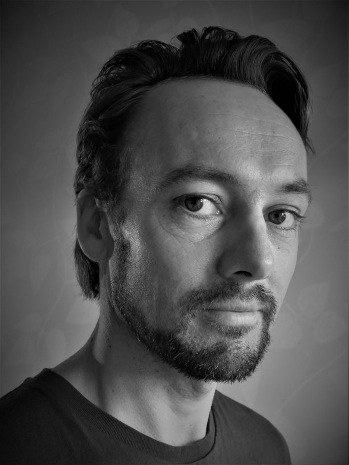 Gaute Næsheim portrett, skuespiller, Sykehusklovnene