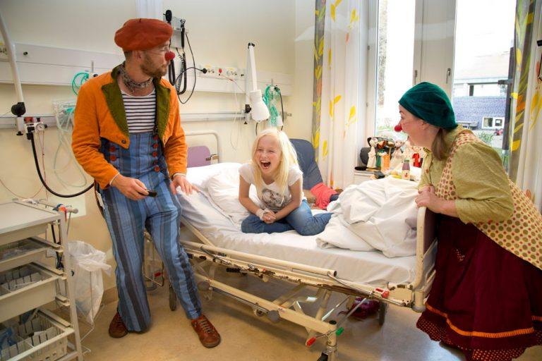 Yep, Cirka på sykebesøk, Sykehusklovnene Ⓒ Foto Morten Eik