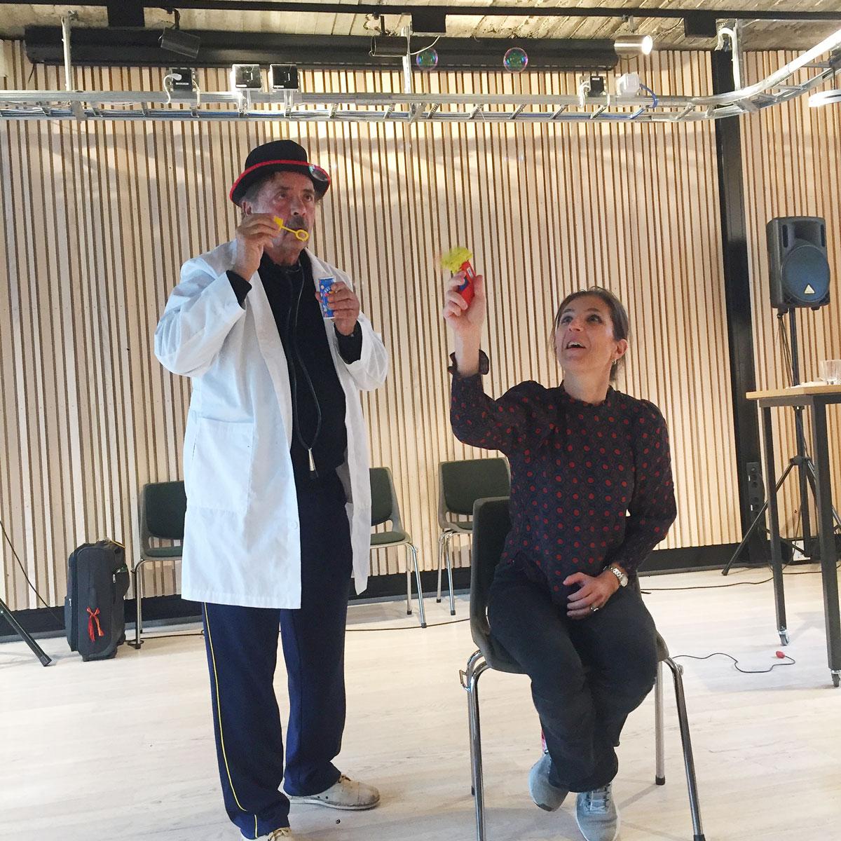 Styremedlem Guro Grindheim får nesetransplantasjon av Michael Christensen
