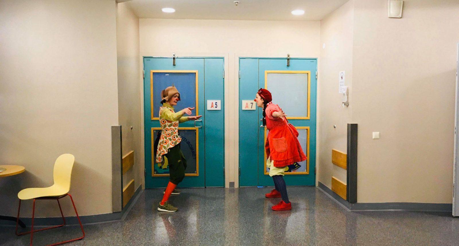 Marion Meis og Thalia på St. Olavs