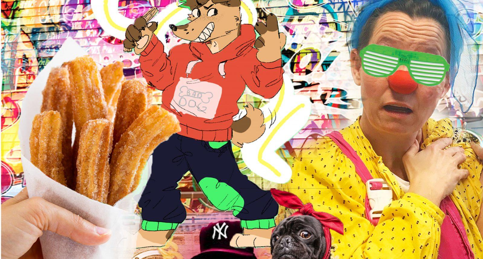 Maxine P. i hiphop-hundeland