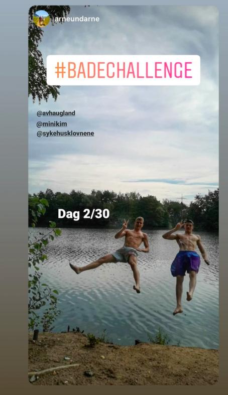 instagram arneundarne bader for sykehusklovnene
